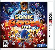 Cover for Sonic Boom: Fire & Ice.