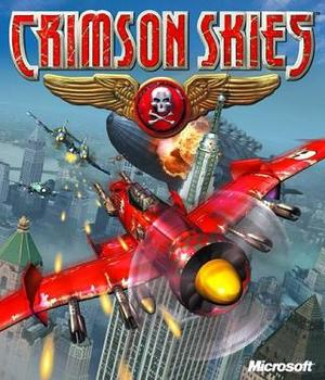 Cover for Crimson Skies.