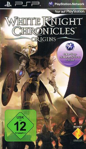 Cover for White Knight Chronicles: Origins.