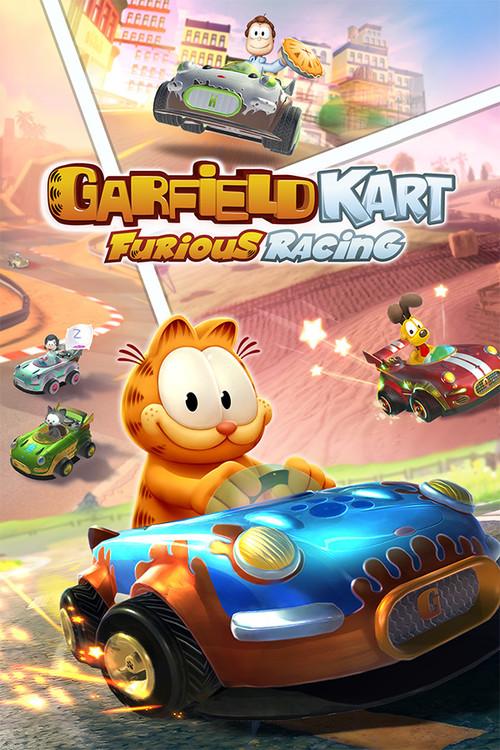 Cover for Garfield Kart - Furious Racing.