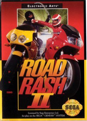 Cover for Road Rash II.