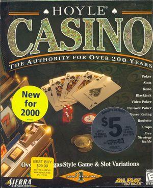 Cover for Hoyle Casino.
