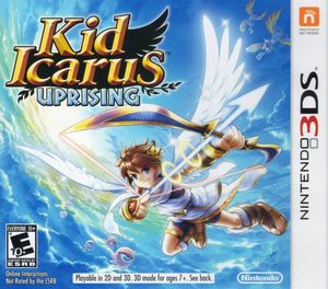 Cover for Kid Icarus: Uprising.
