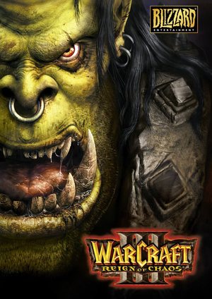 Cover for Warcraft III: Reign of Chaos.