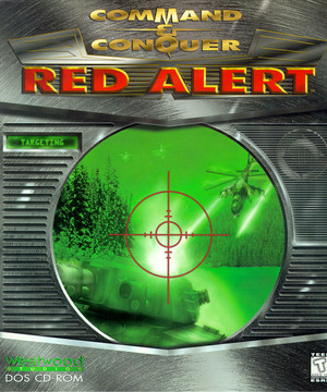 Cover for Command & Conquer: Red Alert.