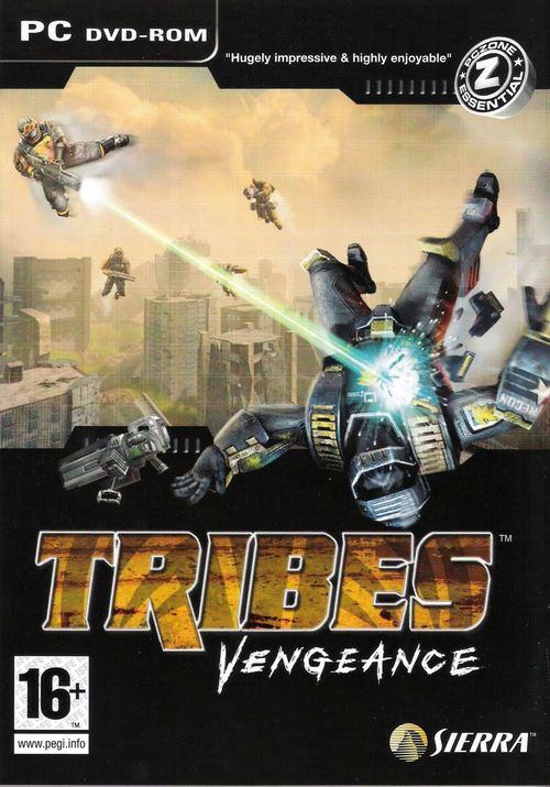 Cover for Tribes: Vengeance.