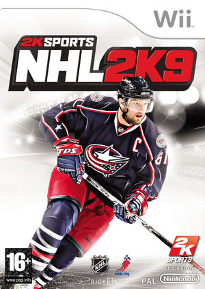 Cover for NHL 2K9.