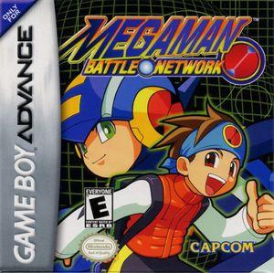 Cover for Mega Man Battle Network.