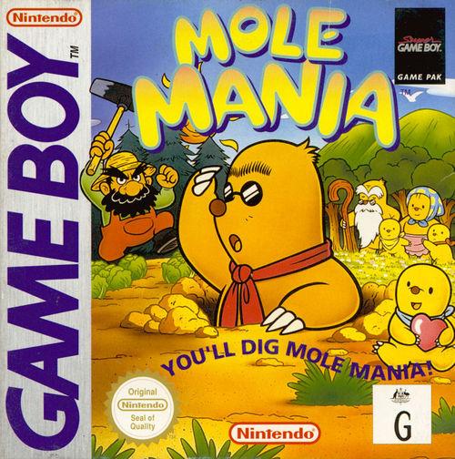 Cover for Mole Mania.