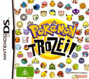 Cover for Pokémon Trozei!.