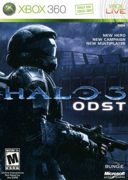 Cover for Halo 3: ODST.
