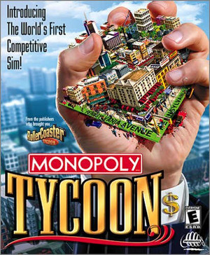 Cover for Monopoly Tycoon.