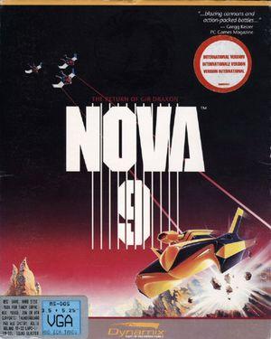 Cover for Nova 9: The Return of Gir Draxon.