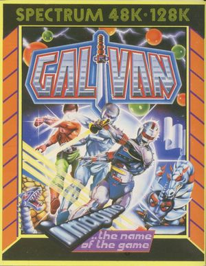 Cover for Galivan.