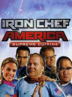 Cover for Iron Chef America: Supreme Cuisine.