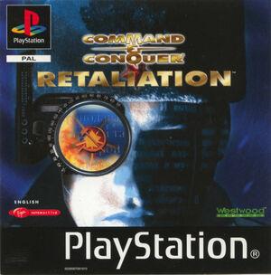 Cover for Command & Conquer: Red Alert: Retaliation.