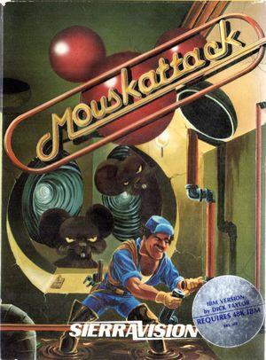 Cover for Mouskattack.