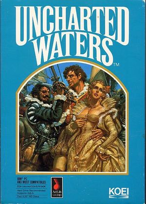 Cover for Uncharted Waters.