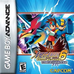 Cover for Mega Man Battle Network 6.