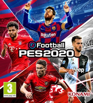 Cover for eFootball PES 20.