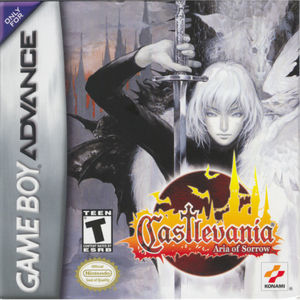 Cover for Castlevania: Aria of Sorrow.