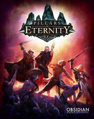 Cover for Pillars of Eternity.