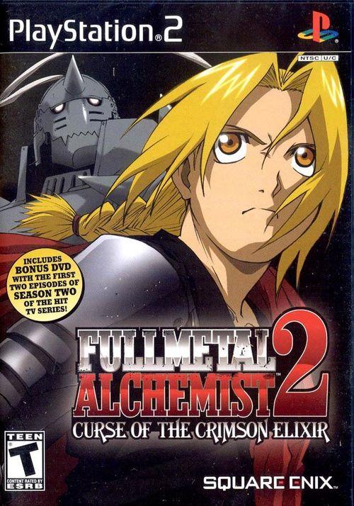 Cover for Fullmetal Alchemist 2: Curse of the Crimson Elixir.