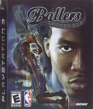 Cover for NBA Ballers: Chosen One.