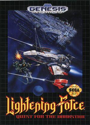 Cover for Thunder Force IV.