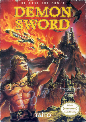 Cover for Demon Sword.