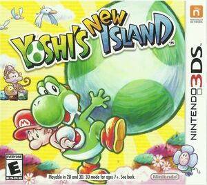 Cover for Yoshi's New Island.