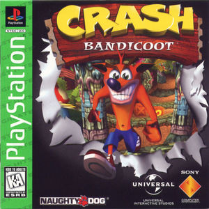 Cover for Crash Bandicoot.