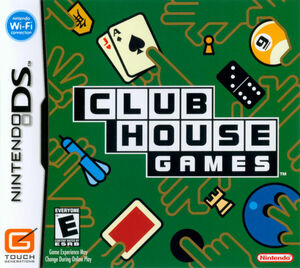 Cover for Clubhouse Games.