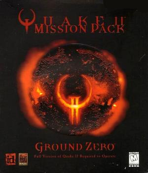 Cover for QUAKE II Mission Pack: Ground Zero.