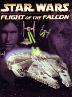 Cover for Star Wars: Flight of the Falcon.