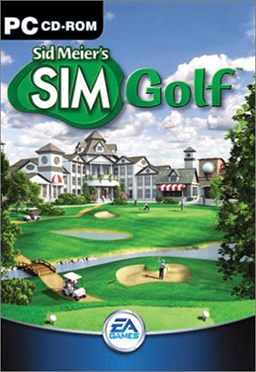 Cover for Sid Meier's SimGolf.