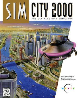 Cover for SimCity 2000.
