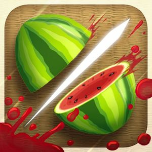 Cover for Fruit Ninja.