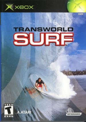 Cover for TransWorld Surf.
