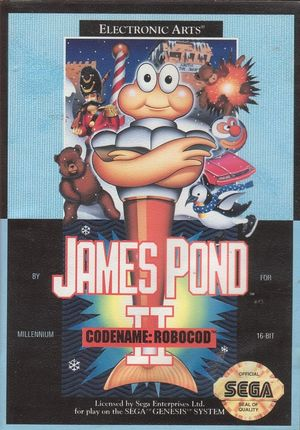 Cover for James Pond 2.