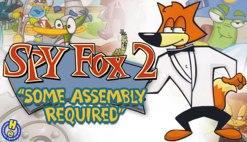 """Cover for Spy Fox 2: """"Some Assembly Required""""."""