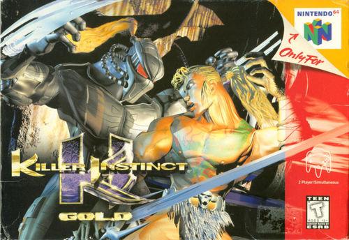 Cover for Killer Instinct Gold.