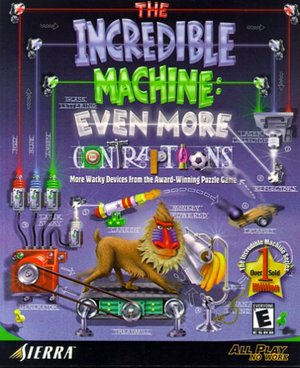 Cover for The Incredible Machine: Even More Contraptions.