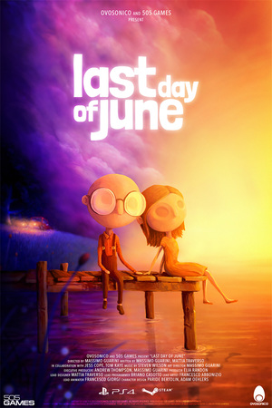 Cover for Last Day of June.