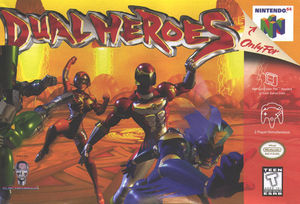 Cover for Dual Heroes.