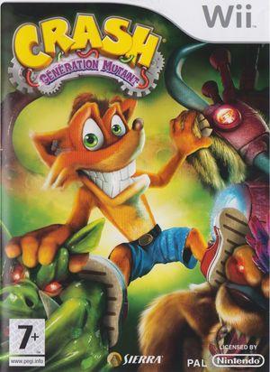 Cover for Crash: Mind over Mutant.