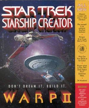 Cover for Star Trek: Starship Creator Warp II.