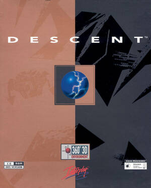 Cover for Descent.