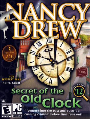 Cover for Nancy Drew: Secret of the Old Clock.