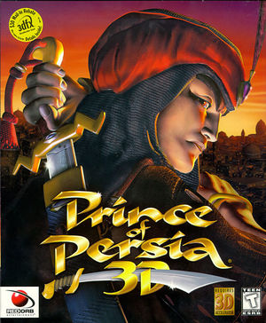 Cover for Prince of Persia 3D.